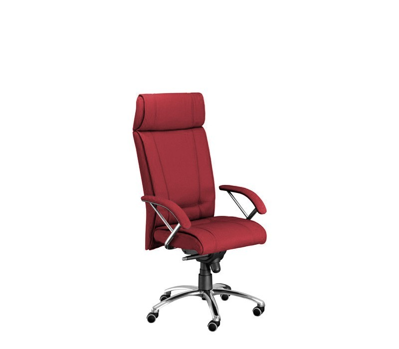 kancelářská židle Demos Boss - Kancelářská židle s područkami (suedine 29)