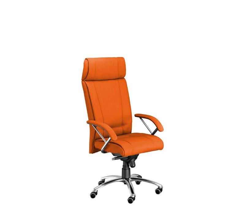 kancelářská židle Demos Boss - Kancelářská židle s područkami (suedine 46)