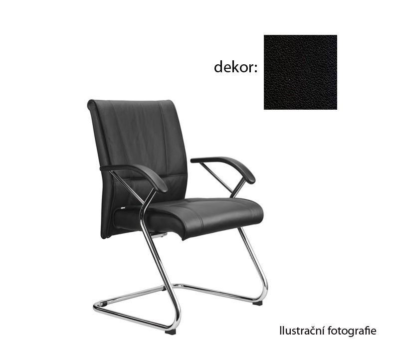 kancelářská židle Demos Medios - Kancelářská židle s područkami (koženka 12)