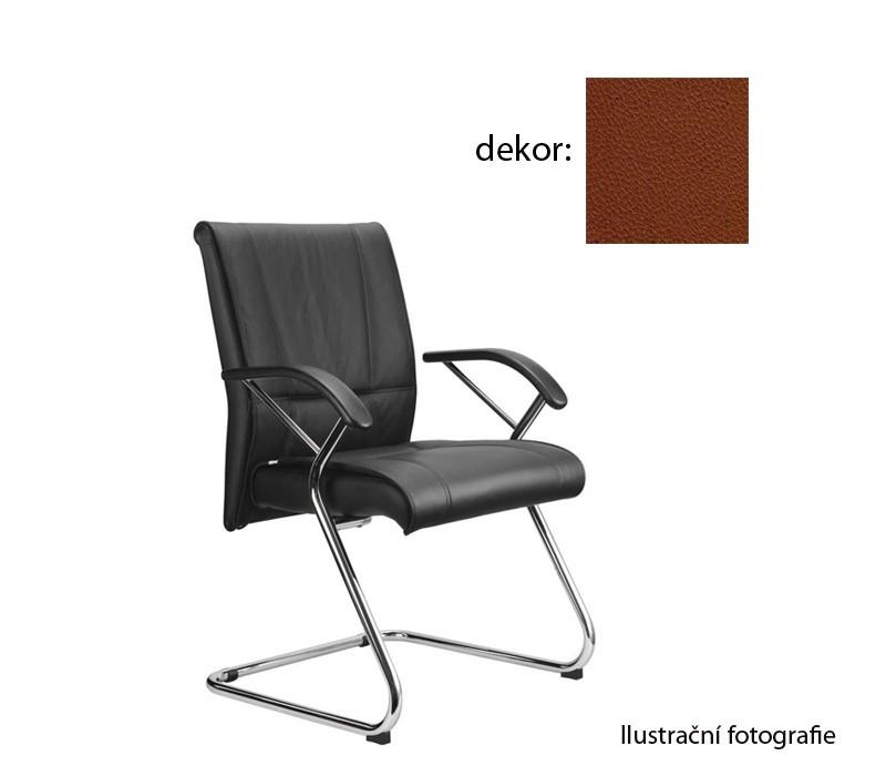 kancelářská židle Demos Medios - Kancelářská židle s područkami (koženka 40)