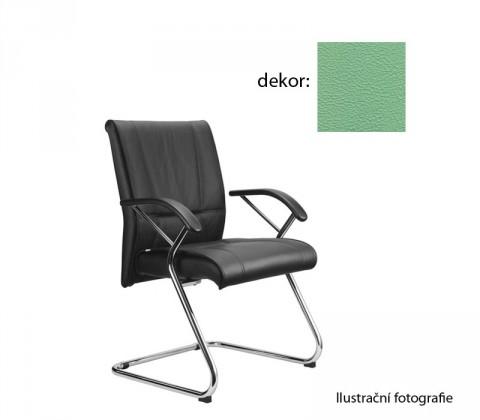 kancelářská židle Demos Medios - Kancelářská židle s područkami (koženka 89)