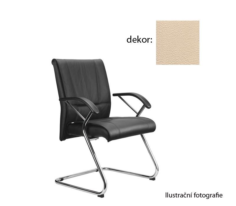 kancelářská židle Demos Medios - Kancelářská židle s područkami (koženka 96)
