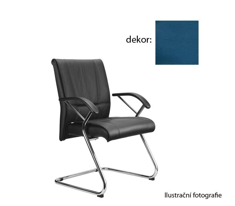 kancelářská židle Demos Medios - Kancelářská židle s područkami (kůže 166)