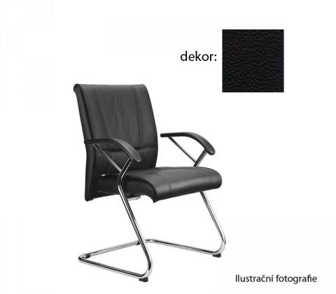 kancelářská židle Demos Medios - Kancelářská židle s područkami (kůže 176)