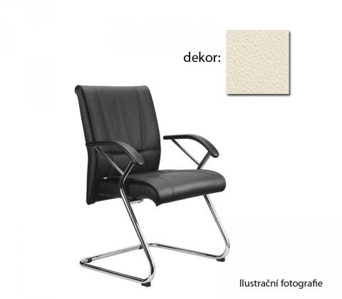kancelářská židle Demos Medios - Kancelářská židle s područkami (kůže 300)