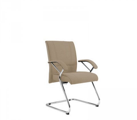 kancelářská židle Demos Medios - Kancelářská židle s područkami (suedine 109)