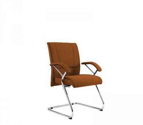 kancelářská židle Demos Medios - Kancelářská židle s područkami (suedine 11)