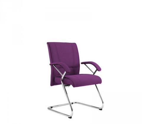 kancelářská židle Demos Medios - Kancelářská židle s područkami (suedine 22)