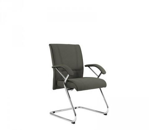 kancelářská židle Demos Medios - Kancelářská židle s područkami (suedine 24)