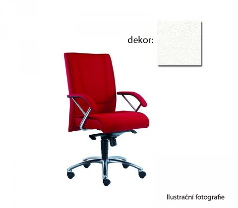 kancelářská židle Demos Prof - Kancelářská židle s područkami (koženka 51)