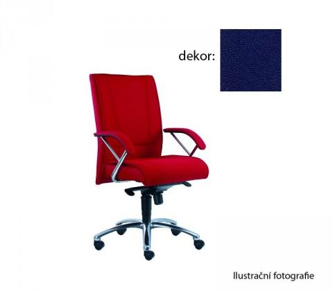 kancelářská židle Demos Prof - Kancelářská židle s područkami (koženka 68)