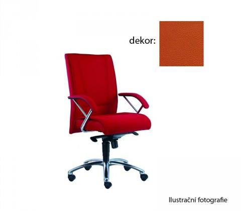 kancelářská židle Demos Prof - Kancelářská židle s područkami (koženka 74)