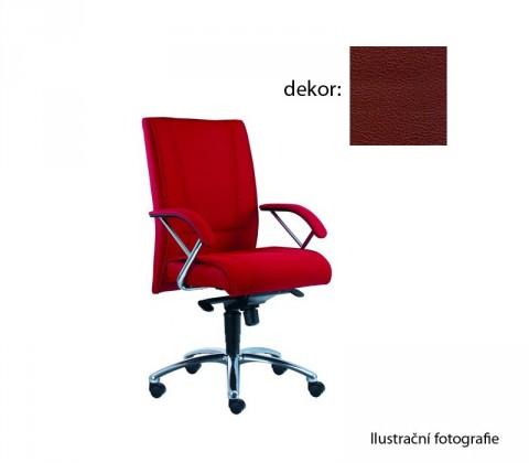 kancelářská židle Demos Prof - Kancelářská židle s područkami (koženka 85)