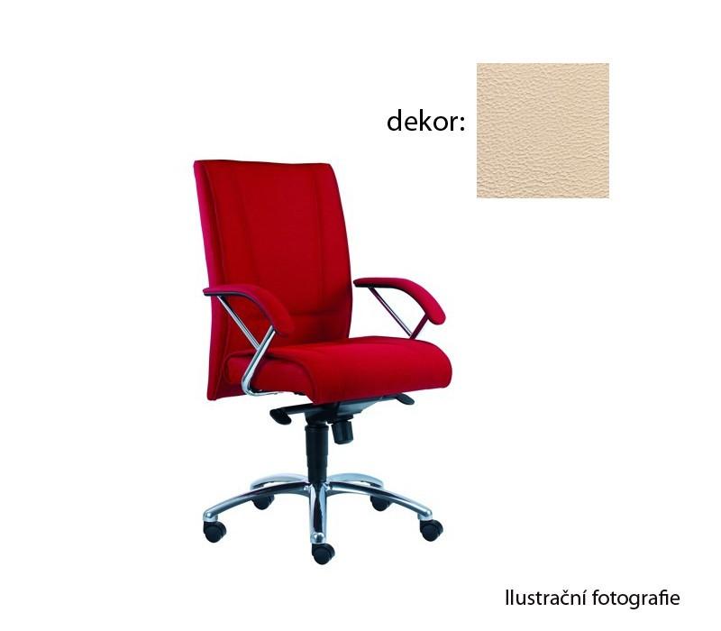 kancelářská židle Demos Prof - Kancelářská židle s područkami (koženka 96)