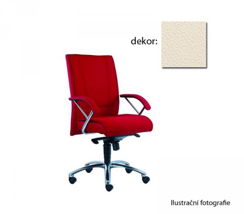 kancelářská židle Demos Prof - Kancelářská židle s područkami (kůže 300)