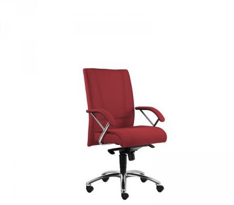 kancelářská židle Demos Prof - Kancelářská židle s područkami (suedine 29)