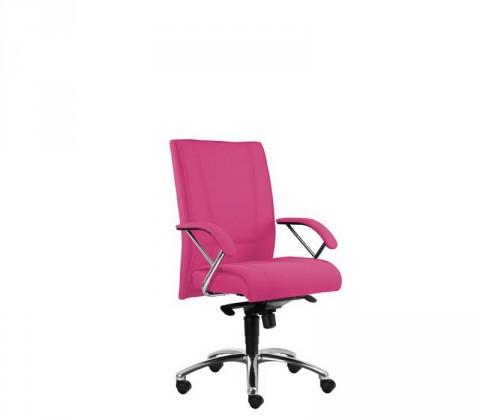 kancelářská židle Demos Prof - Kancelářská židle s područkami (suedine 41)
