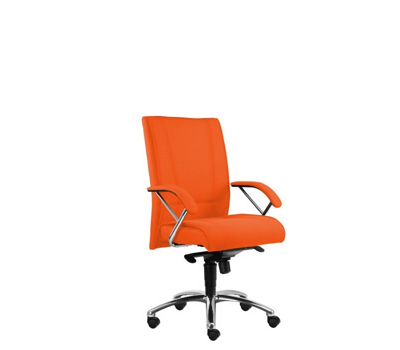 kancelářská židle Demos Prof - Kancelářská židle s područkami (suedine 46)