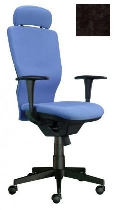 kancelářská židle Ema šéf (Suedine 1, černá)