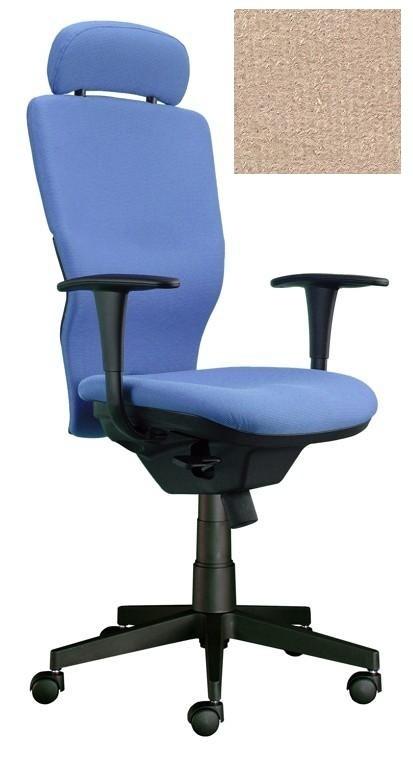kancelářská židle Ema šéf (Suedine 109, béžová)