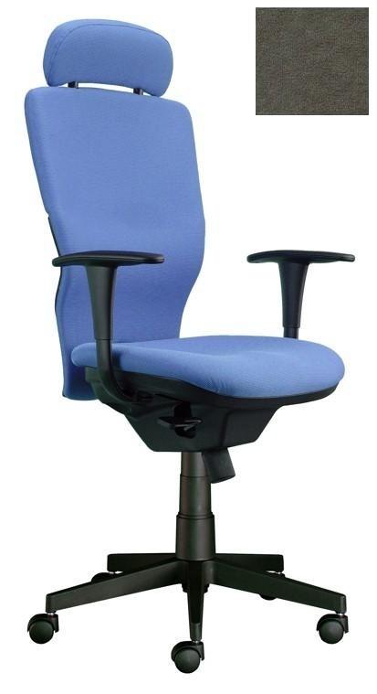 kancelářská židle Ema šéf (Suedine 24, šedá)