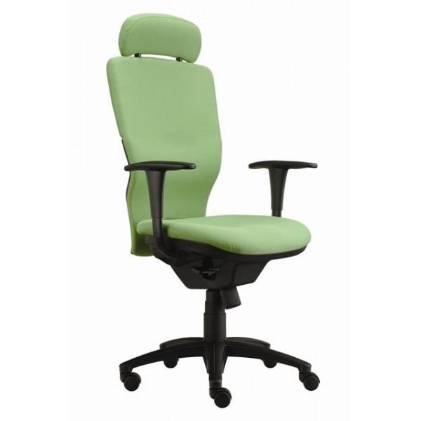 kancelářská židle Ema šéf (Suedine 59, zelená)