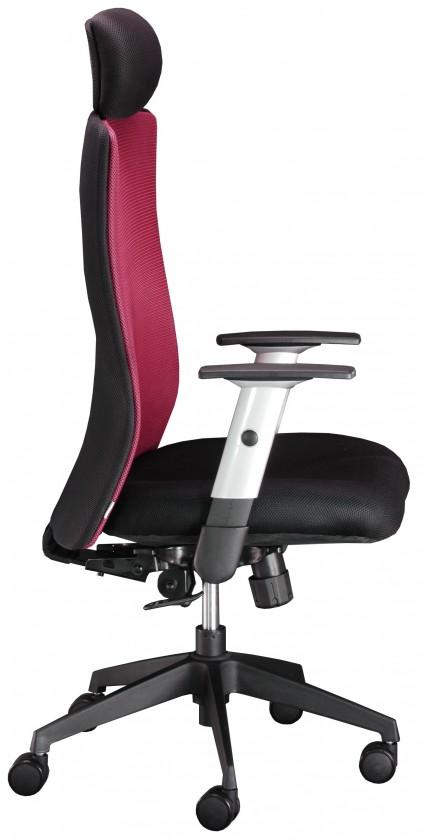 kancelářská židle Lexa - kancelářská židle, podhlavník