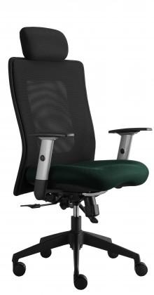 kancelářská židle Lexa s podhlavníkem (alcatraz 12, sk.3)