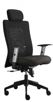 kancelářská židle Lexa s podhlavníkem (alcatraz 29, sk.3)