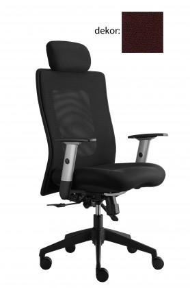 kancelářská židle Lexa s podhlavníkem (bondai 4017, sk.2)
