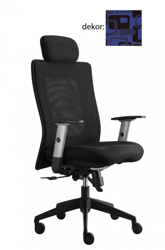 kancelářská židle Lexa s podhlavníkem (norba 82, sk.4)