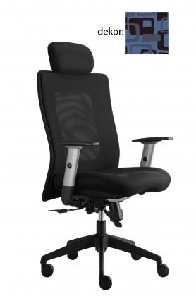 kancelářská židle Lexa s podhlavníkem (norba 97, sk.4)
