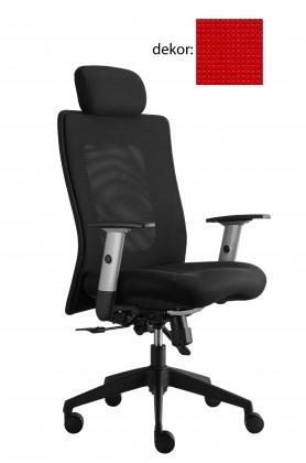 kancelářská židle Lexa s podhlavníkem (pola 229, sk.4)