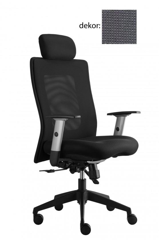 kancelářská židle Lexa s podhlavníkem (pola 617, sk.4)