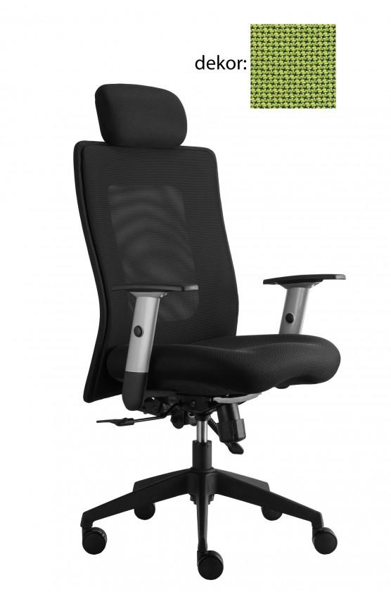 kancelářská židle Lexa s podhlavníkem (rotex 22, sk.2)