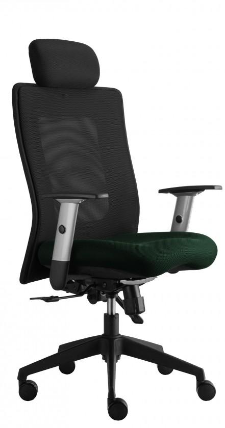 kancelářská židle Lexa s podhlavníkem (suedine 59, sk.1)