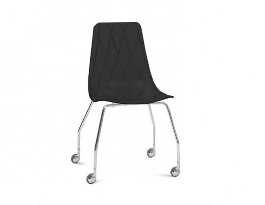 kancelářská židle Lynea-D - Kancelářská židle (černá)