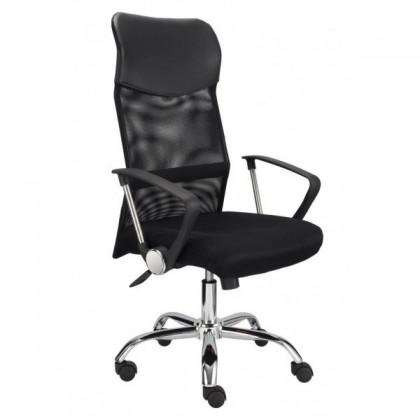 kancelářská židle Medea (černá/chrom)