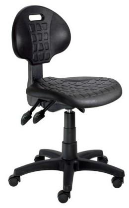kancelářská židle Piera - Dílenská židle (E-asynchro, černá)