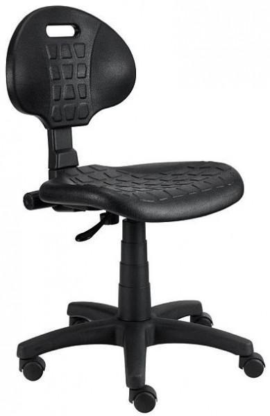 kancelářská židle Piera - Dílenská židle (kloub, černá)