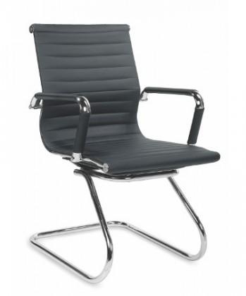 kancelářská židle Prestige skid - Kancelářská židle, područky, nosnost 136 kg