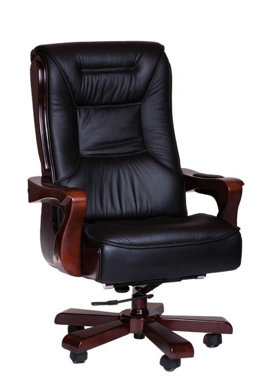 kancelářská židle Texas (černá, hnědá)