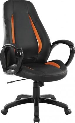 kancelářská židle TIGER (Černo-oranžová)