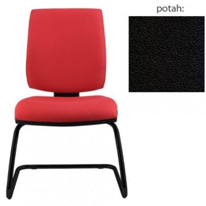 kancelářská židle York prokur černá(koženka 12)