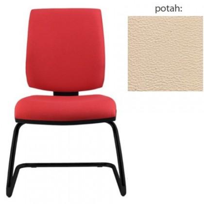 kancelářská židle York prokur černá(koženka 96)