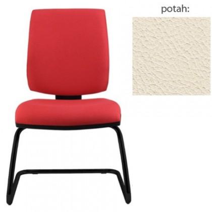 kancelářská židle York prokur černá(kůže 300)