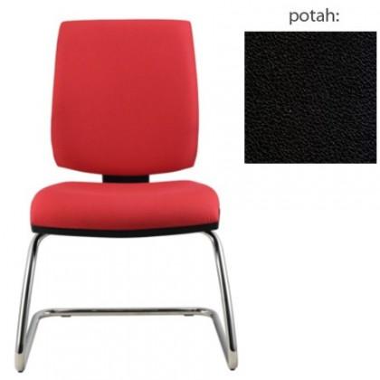 kancelářská židle York prokur chrom(koženka 12)