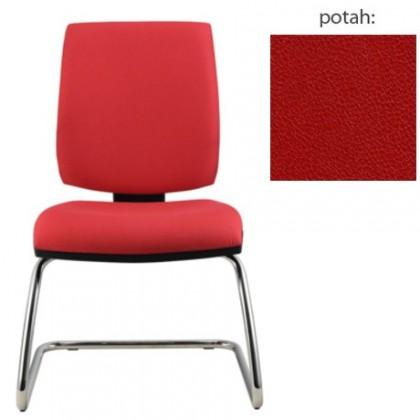 kancelářská židle York prokur chrom(koženka 14)