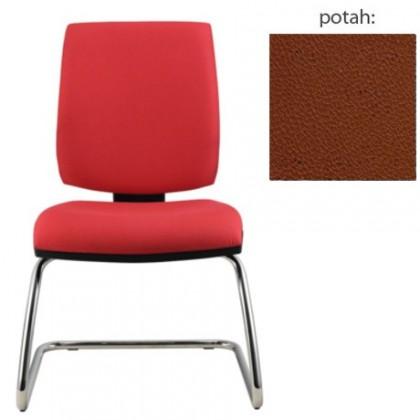 kancelářská židle York prokur chrom(koženka 40)