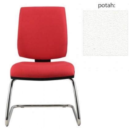 kancelářská židle York prokur chrom(koženka 51)
